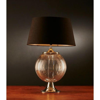 Aspen Glass Table Lamp Base - The Lighting Lounge Australia
