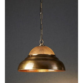 Atrium Pendant Antique Brass - The Lighting Lounge Australia