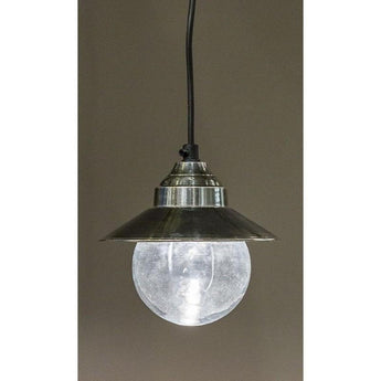 Auckland Pendant Antique Silver - The Lighting Lounge Australia