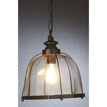 Avery Pendant in Antique Brass - The Lighting Lounge Australia