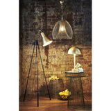 Baker Large Pendant Lamp Gold - The Lighting Lounge Australia