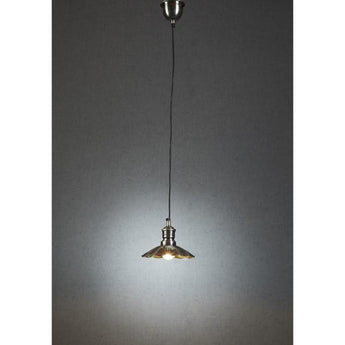 Baltic Hanging Lamp In Silver - The Lighting Lounge Australia