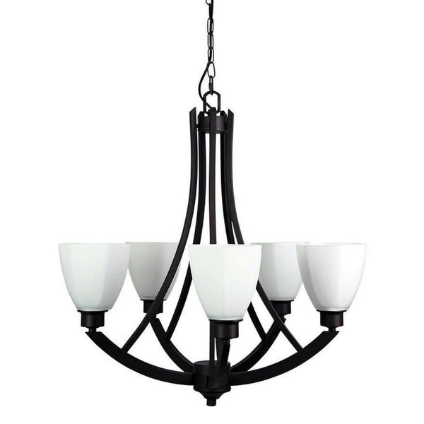 Bedford 5 Light Pendant Antique Brown - The Lighting Lounge Australia