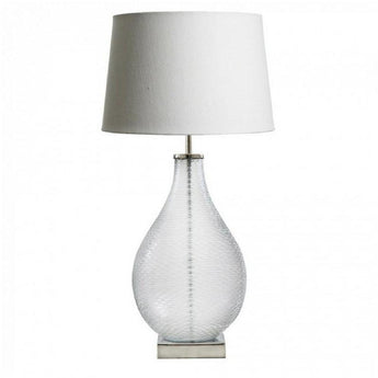 Bellora Glass Table Lamp Base - The Lighting Lounge Australia
