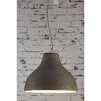 Biscayne Hanging Lamp In Grey - The Lighting Lounge Australia