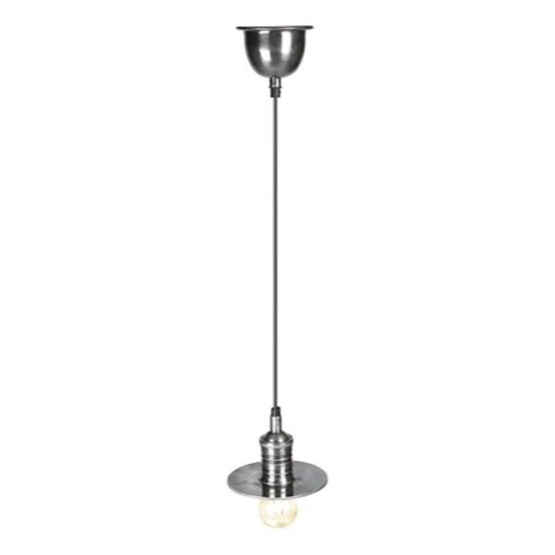 Bistino Small Hanging Lamp Silver - The Lighting Lounge Australia