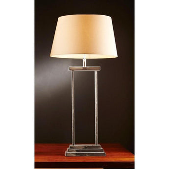 Bondi Table Lamp Base In Nickel - The Lighting Lounge Australia