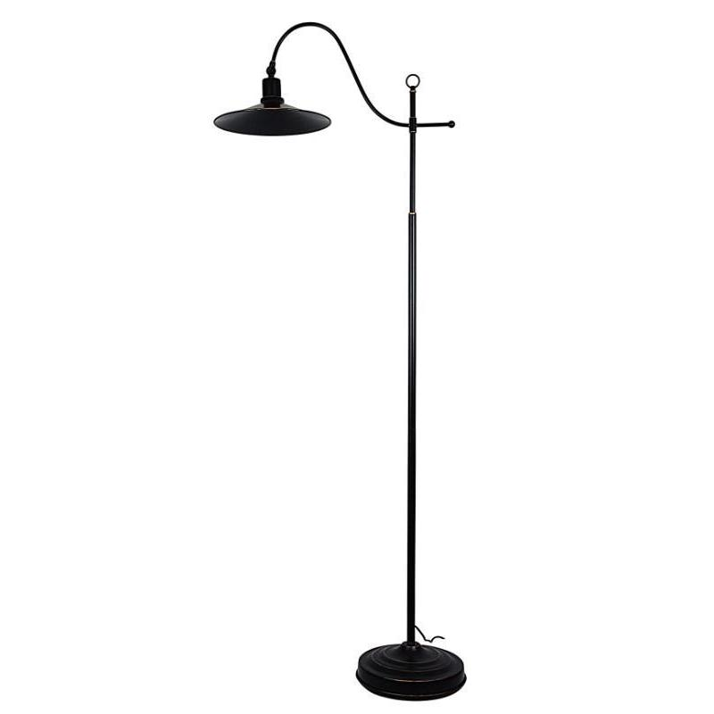 Boston Floor Lamp Rubbed Bronze - The Lighting Lounge Australia