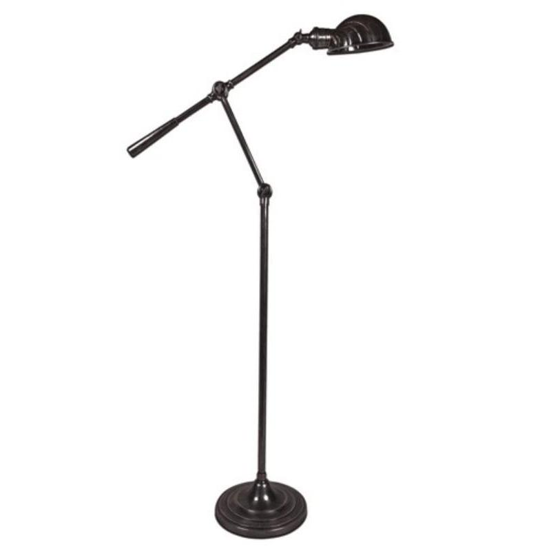 Calais Antique Bronze Adjustable Floor Lamp - The Lighting Lounge Australia