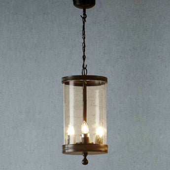 Carnaby Glass Hanging Lamp In Bronze - The Lighting Lounge Australia