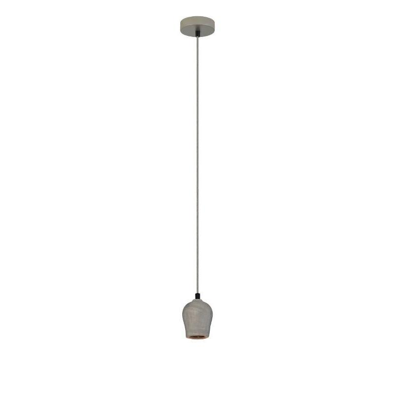 Chunk Concrete Single Pendant - The Lighting Lounge Australia