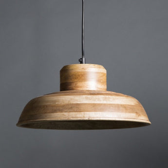 Circa Wooden Pendant Lamp - The Lighting Lounge Australia