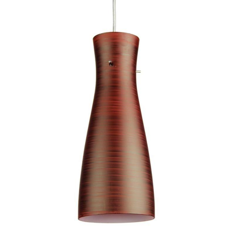 Cleo Painted Glass Single Pendant Red - The Lighting Lounge Australia