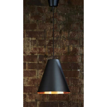 Conrad Hanging Lamp in Black Copper - The Lighting Lounge Australia