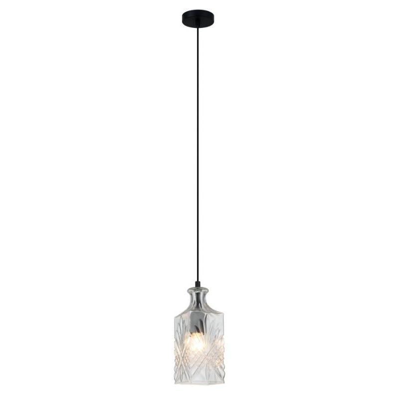 Decant 4 Single Pendant Clear Glass - The Lighting Lounge Australia