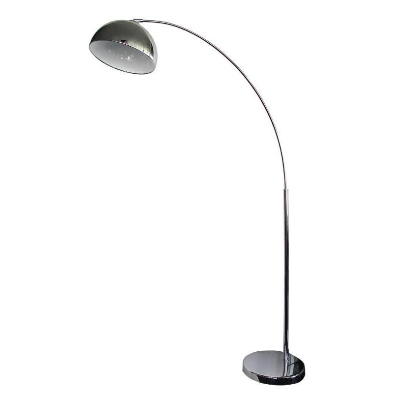 Dome Arc Floor Lamp Chrome - The Lighting Lounge Australia