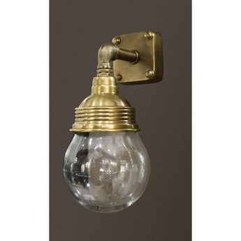 Dover Wall Lamp In Antique Brass - The Lighting Lounge Australia