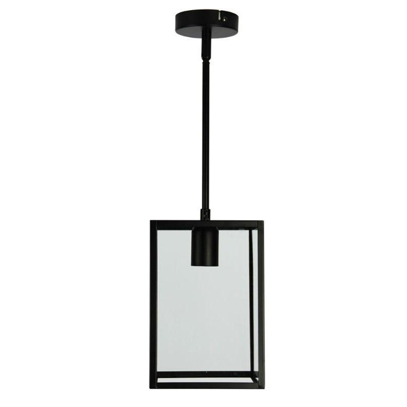 Eaton 17 Single Pendant Matt Black - The Lighting Lounge Australia