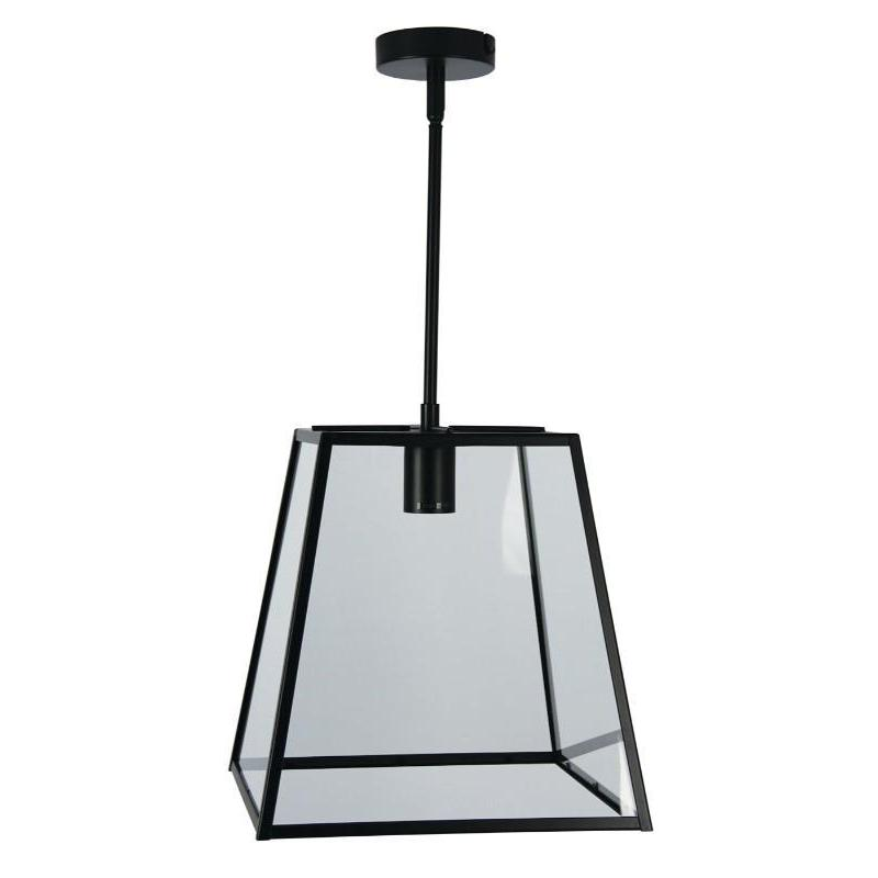 Eaton 30 Single Pendant Matt Black - The Lighting Lounge Australia