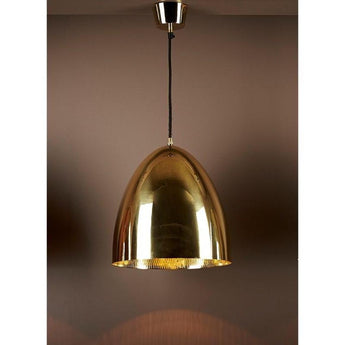 Egg Ceiling Lamp Brass - The Lighting Lounge Australia