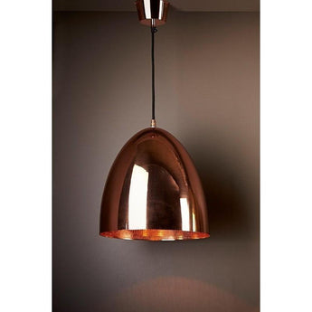Egg Copper Ceiling Lamp - The Lighting Lounge Australia