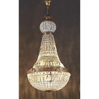 Empire Style Chandelier Large - The Lighting Lounge Australia