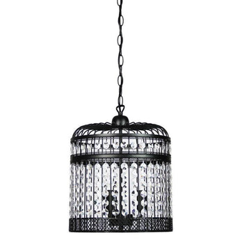 Esdale 3 Light Pendant Matt Black - The Lighting Lounge Australia