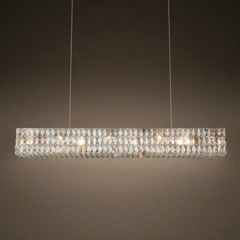 Euston Rectangular Chandelier - The Lighting Lounge Australia