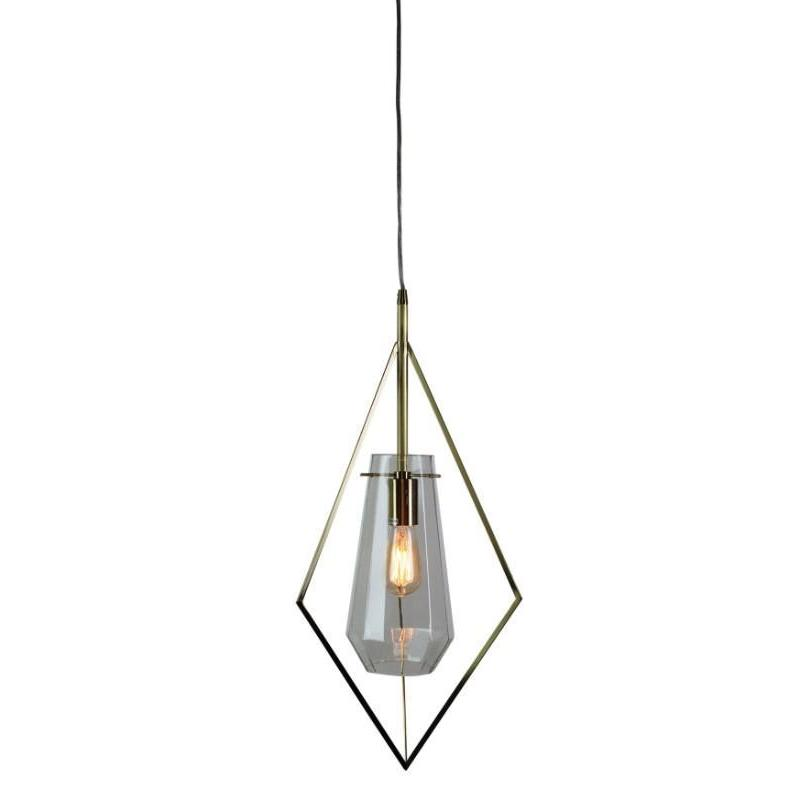Fili Single Pendant Satin Brass Large - The Lighting Lounge Australia