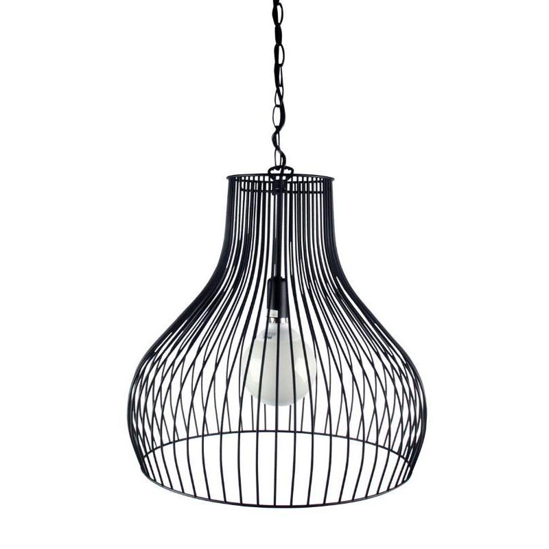 Gabby Wire Single Pendant Black - The Lighting Lounge Australia