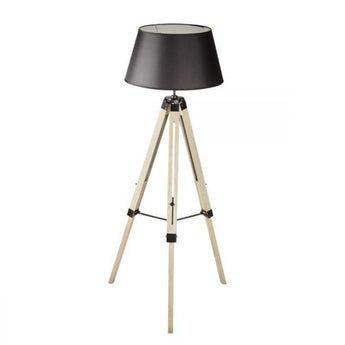 Hampus Black Tripod Floor Lamp - The Lighting Lounge Australia