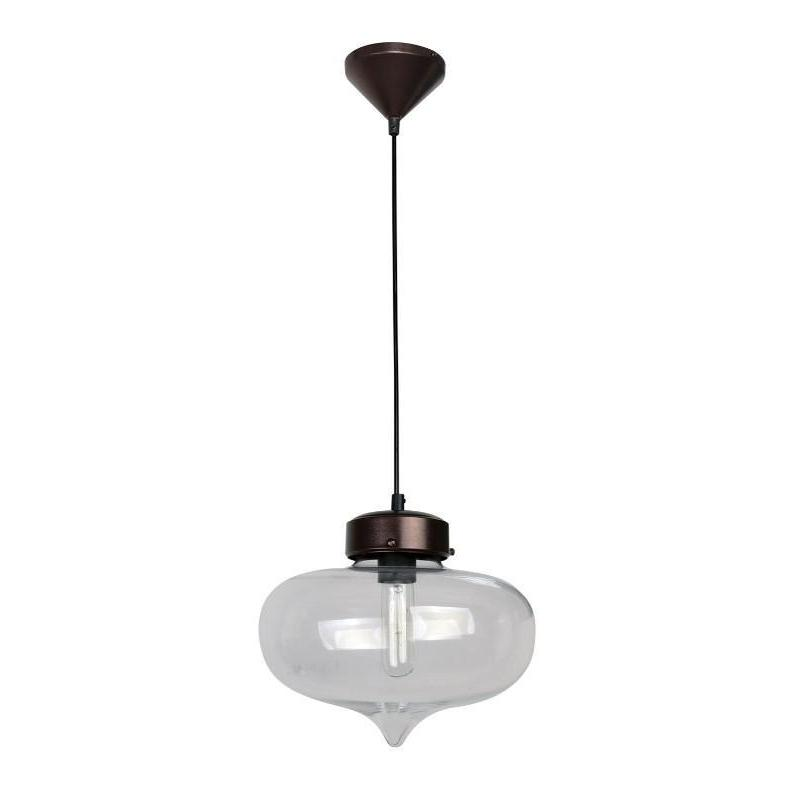 Hartford No.14 Single Pendant Clear - The Lighting Lounge Australia
