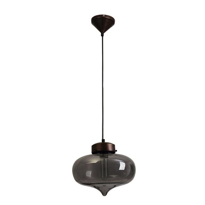 Hartford No.14 Single Pendant Smoke - The Lighting Lounge Australia