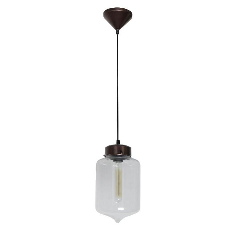 Hartford No.17 Single Pendant Clear - The Lighting Lounge Australia