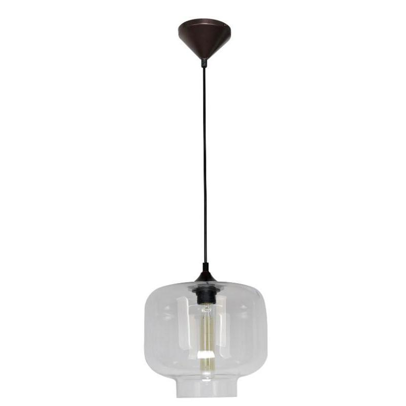 Hartford No.21 Single Pendant Clear - The Lighting Lounge Australia