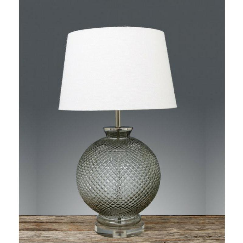 Isabella Glass Table Lamp Base - The Lighting Lounge Australia
