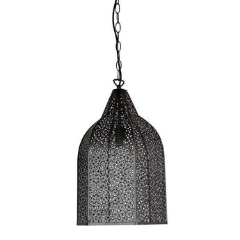 Istanbul Wrought Metal Antique Rust Pendant - The Lighting Lounge Australia