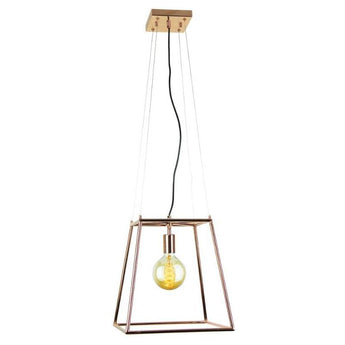 James Tubular Pendant Copper - The Lighting Lounge Australia
