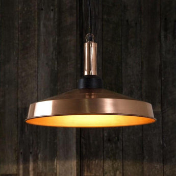 Jefferson Hanging Lamp in Copper - The Lighting Lounge Australia