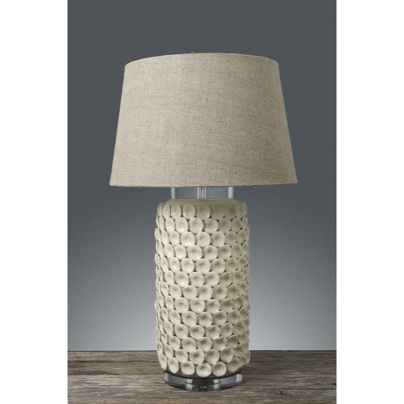 Kenilworth Coastal Cream Table Lamp Base - The Lighting Lounge Australia