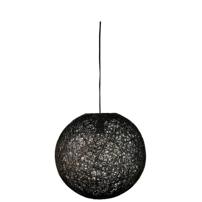 Kono 36 Abaca Pendant Dark Brown - The Lighting Lounge Australia