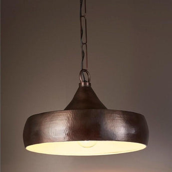 Lafayette Hanging Lamp in Dark Brass - The Lighting Lounge Australia