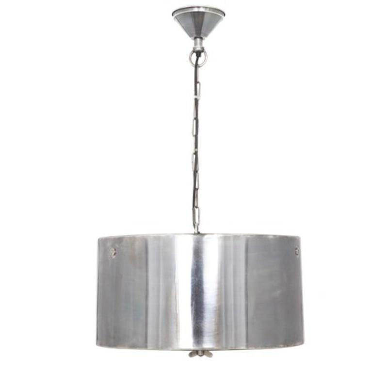 Lexington Hanging Lamp in Silver - The Lighting Lounge Australia
