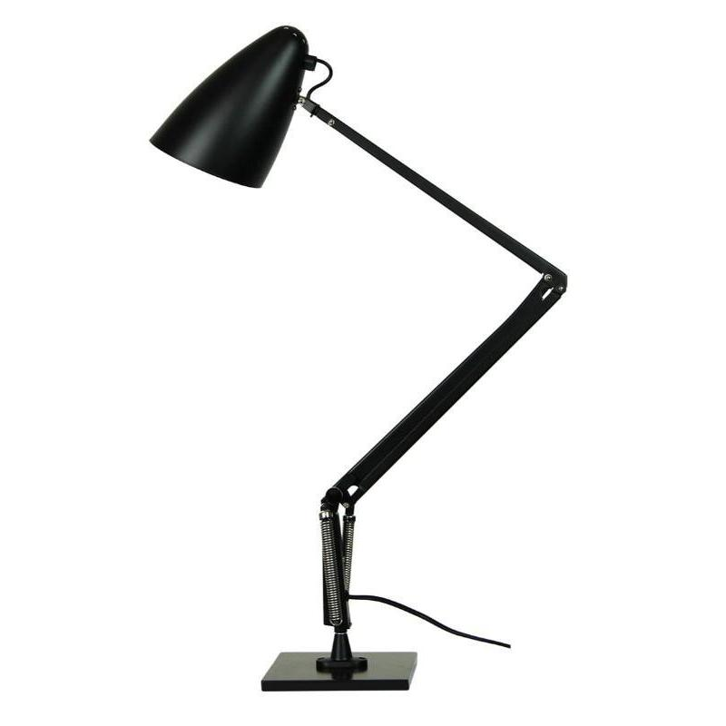 Lift Reproduction Desk Lamp Black - The Lighting Lounge Australia