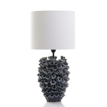Londolozi Table Lamp Blue and White - The Lighting Lounge Australia