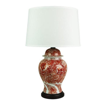 Longwei Red Dragon Chinese Lamp - The Lighting Lounge Australia