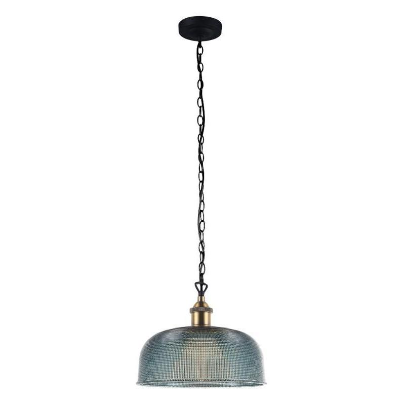 Maison Blue Halophane Glass Pendant - The Lighting Lounge Australia