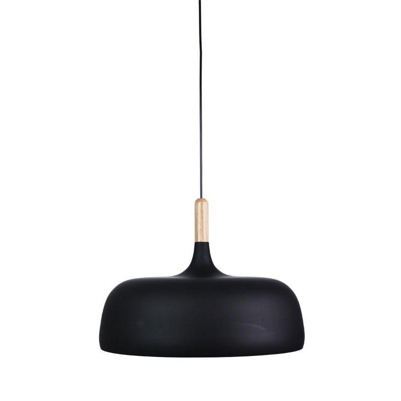 Malt 48 Single Pendant Matt Black - The Lighting Lounge Australia