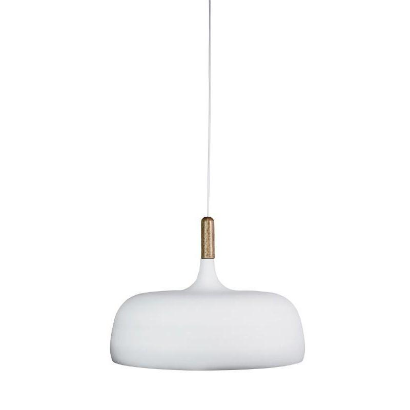 Malt 48 Single Pendant Matt White - The Lighting Lounge Australia