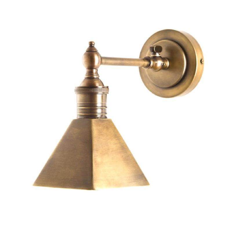Mayfair Wall Sconce Antique Brass - The Lighting Lounge Australia